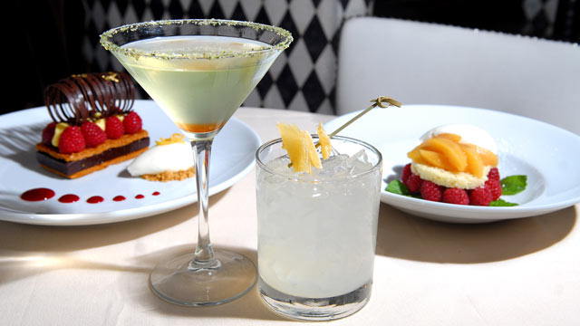 "PHOTO: David Burke's 'Tequila Mockingbird' and ""In the Heat of The Night' cocktails are seen here."