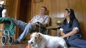 Diabetic Man Saved When Pet Dog Bites Off His Toe
