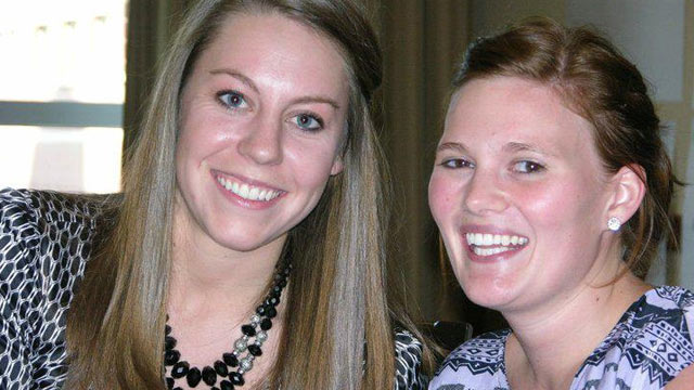 PHOTO:Tina Westra(right),23, has suffered from epilepsy most of her life.