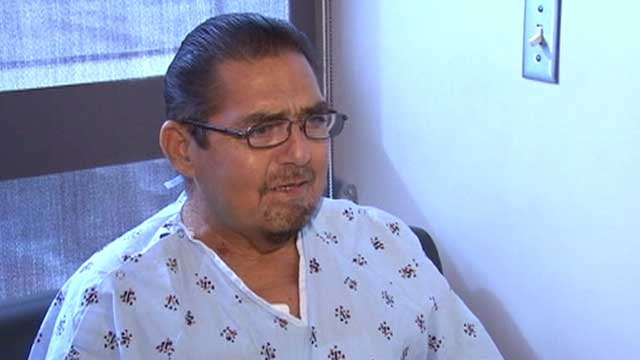 "PHOTO: 57-year-old Fernando Padilla of Alta Loma, Calif., became the first in the country to receive a ""breathing lung"" transplant in mid November."