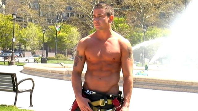 Fireman hunk