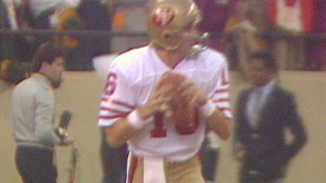 VIDEO: Quarterback Joe Montana on Joint Pain