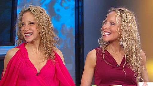 VIDEO: The Nutrition Twins share tips for sticking with your New Years resolution.