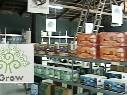 Video: Pot warehouse opens in Oakland California.