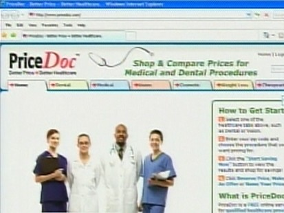 VIDEO: PriceDoc.Com lets user negotiate price of medical and dental procedures.