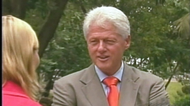 In a 2008 interview Bill Clinton discusses his legacy and heart issues.