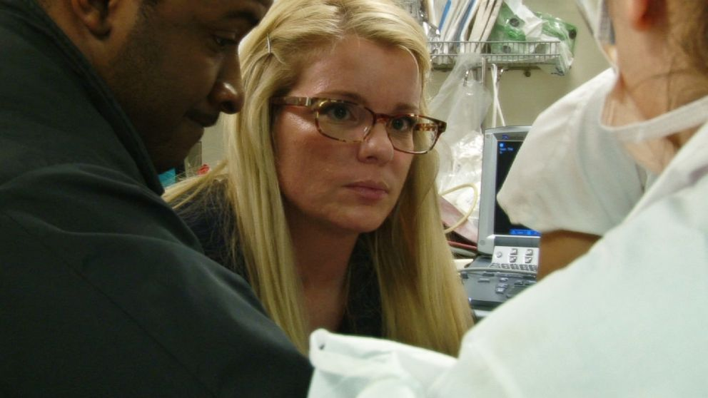 """Nurse Katie Duke has been featured on two seasons of the reality medical drama, """"New York Med."""""""
