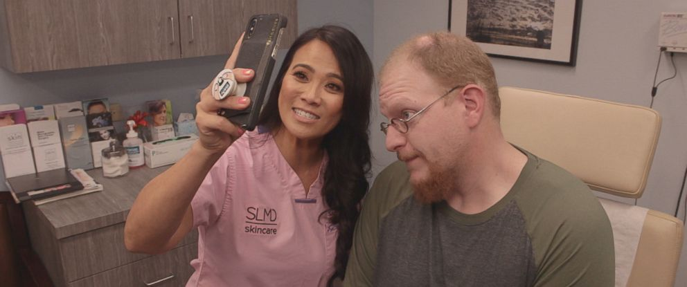 Patients like 34-year-old Eric Lagos travel across the country to seek care from Dr. Sandra Lee, better known as Dr. Pimple Popper.