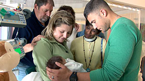 Photo: Boston Med: When New Baby Needs Heart Surgery: Doctors Move Quickly to Surgery on Newborns Congenital Heart Defect