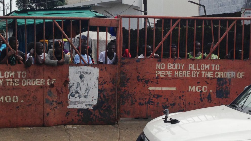 West Point, a slum of Monrovia, Liberia, has been quarantined during the Ebola outbreak.