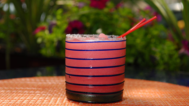PHOTO: A low calorie cocktail, the Rosalita Margarita, is offered at Rosa Mexicano.