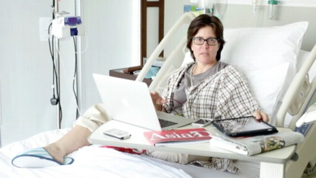 VIDEO: AllThingsD.coms Kara Swisher suffered a transient ischemic attack.