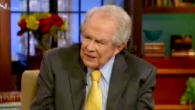 Aging Televangelist Pat Robertson Says God Punishing Us With Covid-19 Because of Gay Marriage