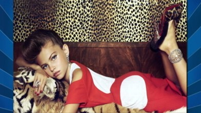 10 Year Old Vogue Model How Young Is Too Young Video