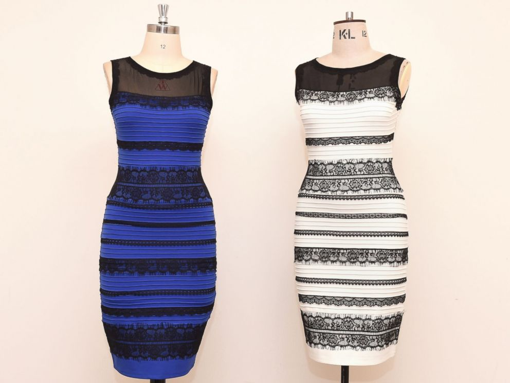 White and gold or black and blue why people see the dress for What color do you like