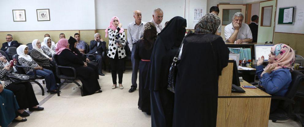 PHOTO: Patients wait for their checkups at Jordans National Center for Diabetes in Amman, Jordan, June 14, 2015.