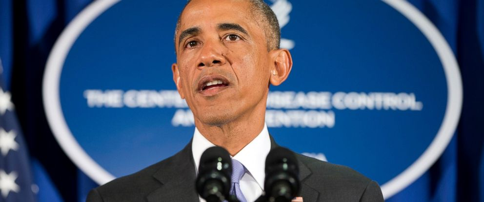 PHOTO: President Barack Obama speaks at the Centers for Disease Control and Prevention (CDC) in Atlanta, Sept. 16, 2014.