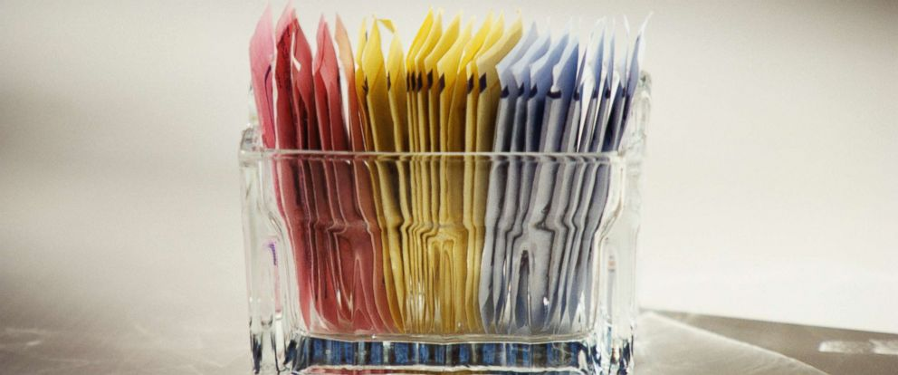 PHOTO: An undated file photo of artificial sweeteners.