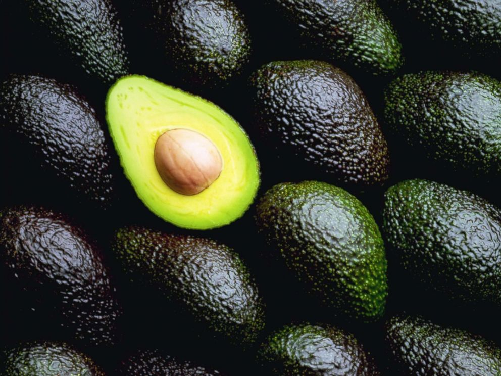 PHOTO: Cut and uncut avocados are pictured in this undated stock photo.