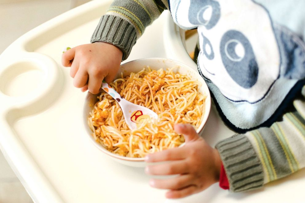 PHOTO: A baby eats in this undated stock photo.