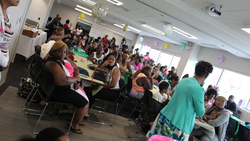 More than 100 women and men attended the 2018 St. Bernard Hospital Community Baby Shower.