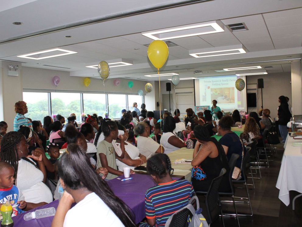 PHOTO: St. Bernard Hospitals baby shower features gifts, lunch and a chance for new moms to learn.