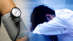 Blood pressure and lack of sleep
