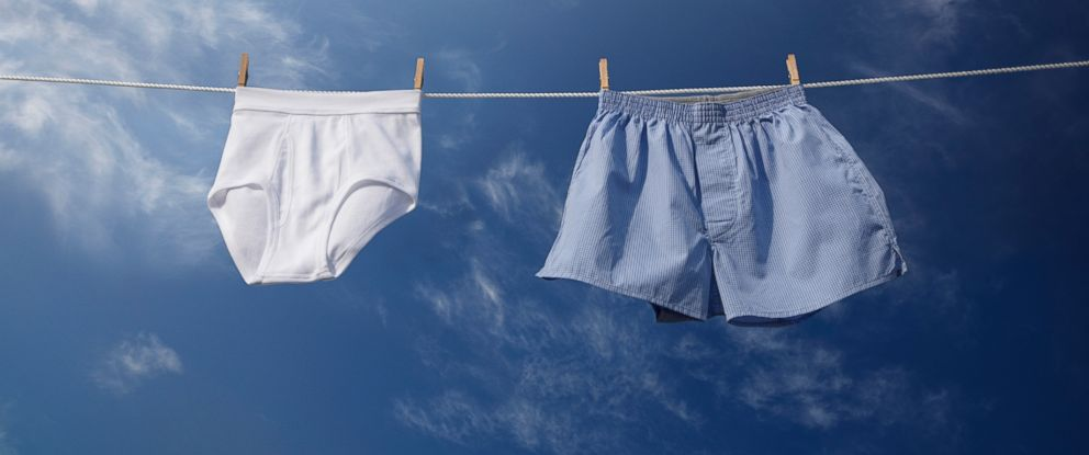 PHOTO: A new Harvard study that says that men who wear briefs have lower sperm counts than their boxer-rockin counterparts.
