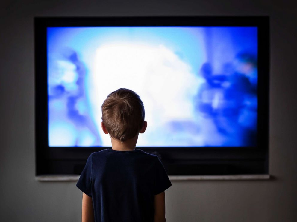PHOTO: A young boy watches television in this undated stock photo.
