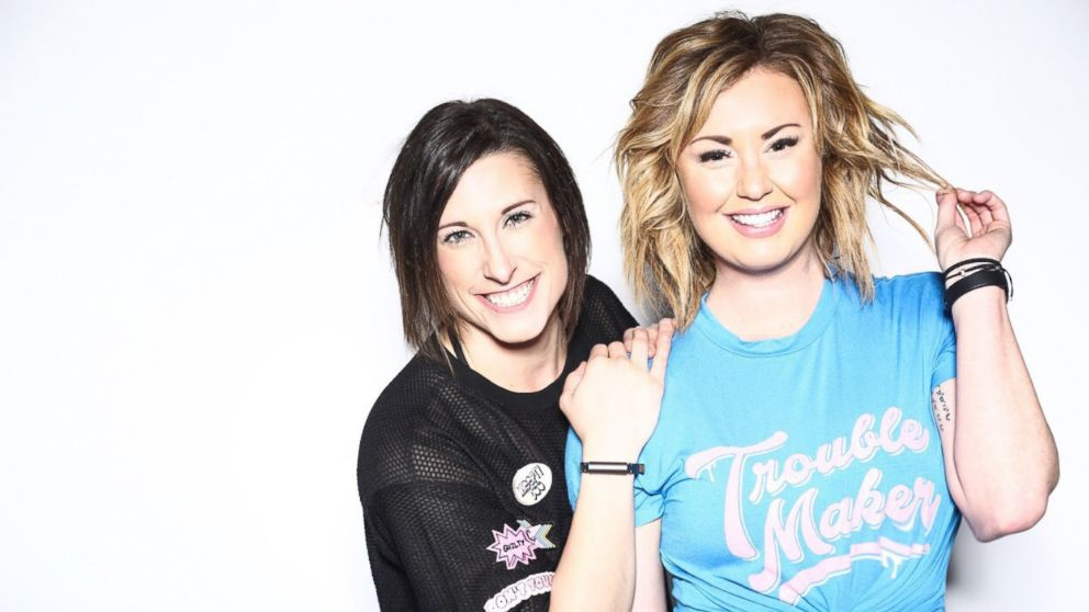 Amber Rees, left, and Lindsey Clayton, right, are MoveWith trainers and founders of the Brave Body Project.