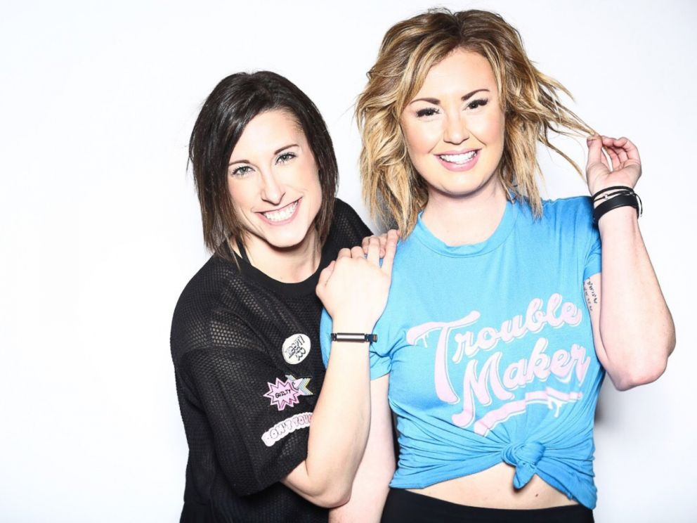 PHOTO: Amber Rees, left, and Lindsey Clayton, right, are MoveWith trainers and founders of the Brave Body Project.