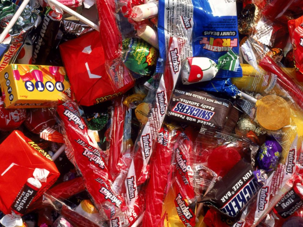 PHOTO: A variety of candy is seen in this stock photo.