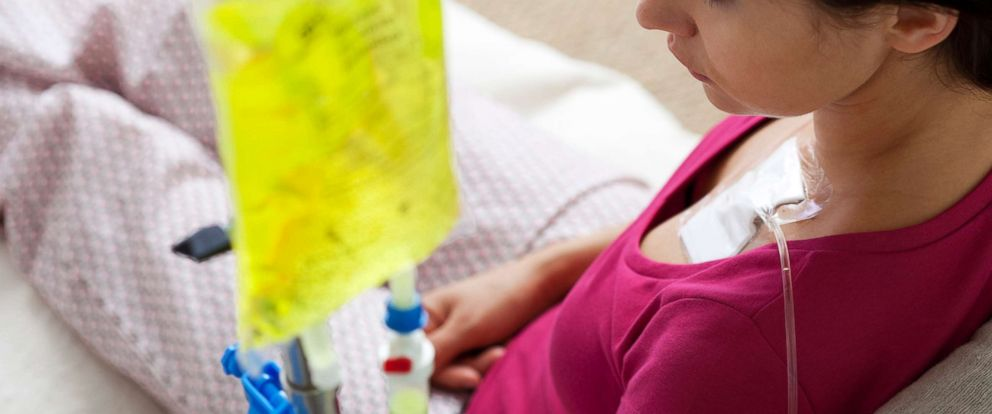 PHOTO: A patient undergoes chemotherapy in an undated stock photo.