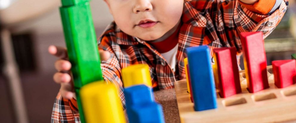 PHOTO: A child plays with blocks in an undated stock photo.