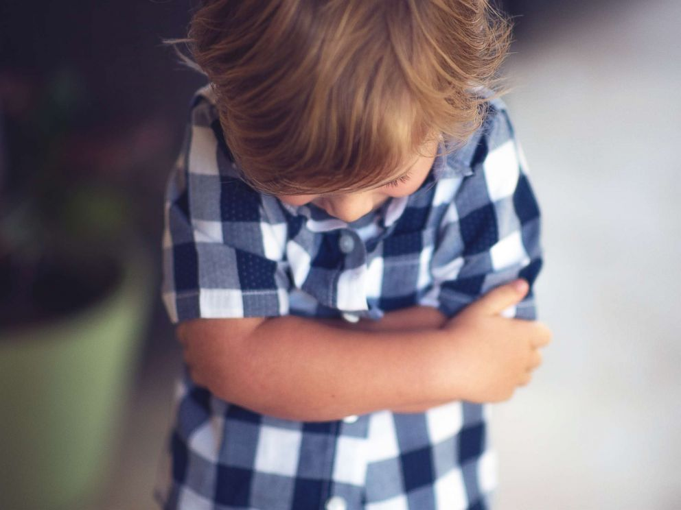 PHOTO: A child stands with his hands crossed in this undated stock photo.