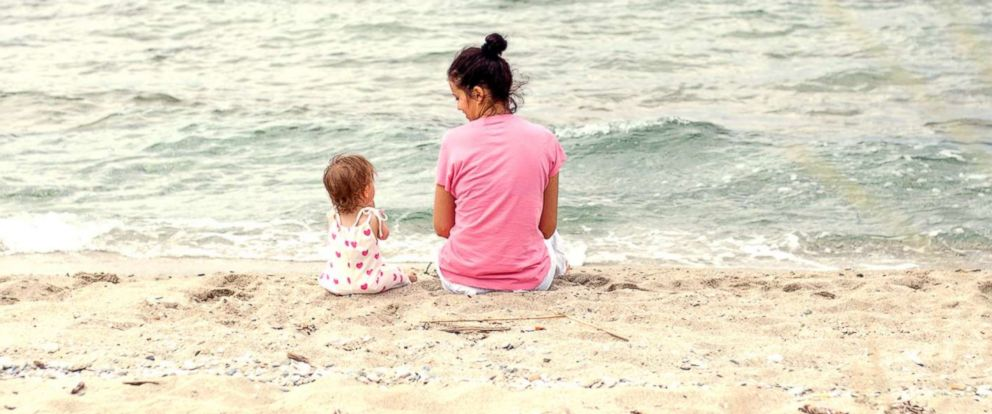 PHOTO: A mother and daughter spend time together at beach in this undated stock photo.