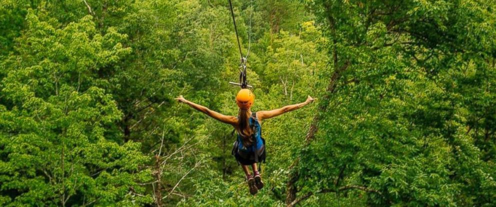 PHOTO: Climbworks Zipline in Gatlinberg Tennessee is pictured in this undated image.