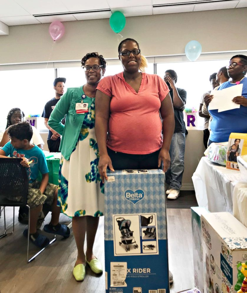 PHOTO: St. Bernard Hospital in Chicago threw a baby shower for 150 moms.