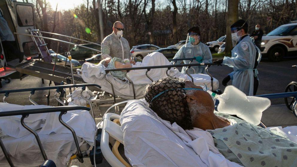 死亡人数稳步上升,纽约的曲线趋于平坦:库莫