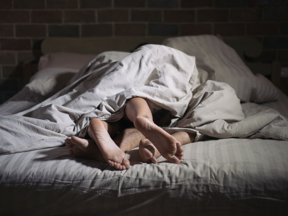 PHOTO: A couple is seen in bed in this undated stock photo.