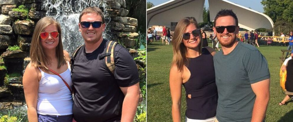 PHOTO: Megan Murphy and Kevin Minnick lost a combined more than 120 pounds on Weight Watchers.