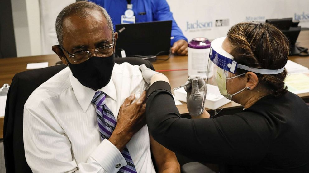 Black Americans lagging behind in COVID-19 vaccinations, data shows