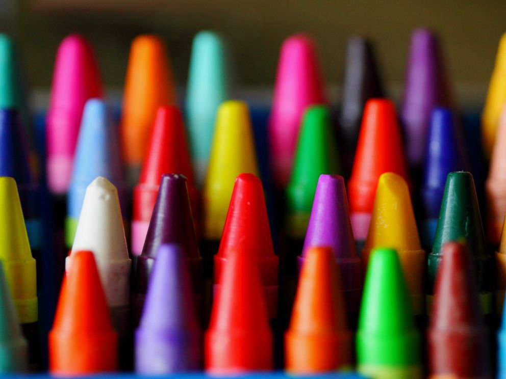PHOTO: Box of colorful crayons are pictured in this undated stock photo.