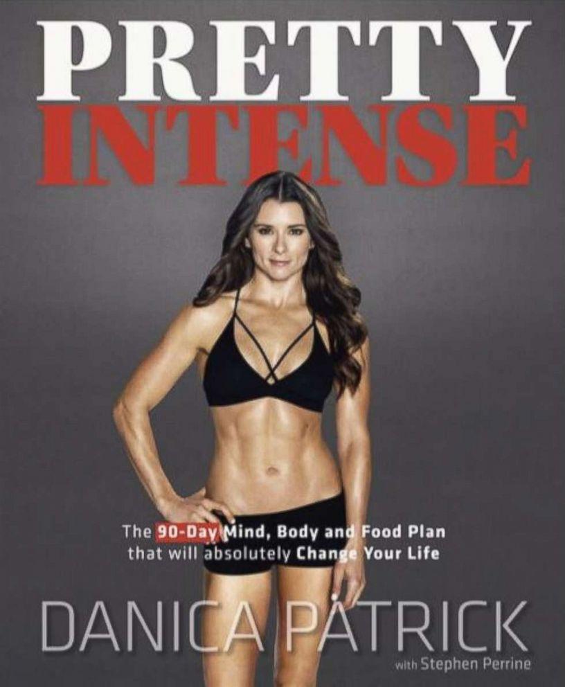 PHOTO:The cover of Danica Patricks new book entitled, Pretty Intense.