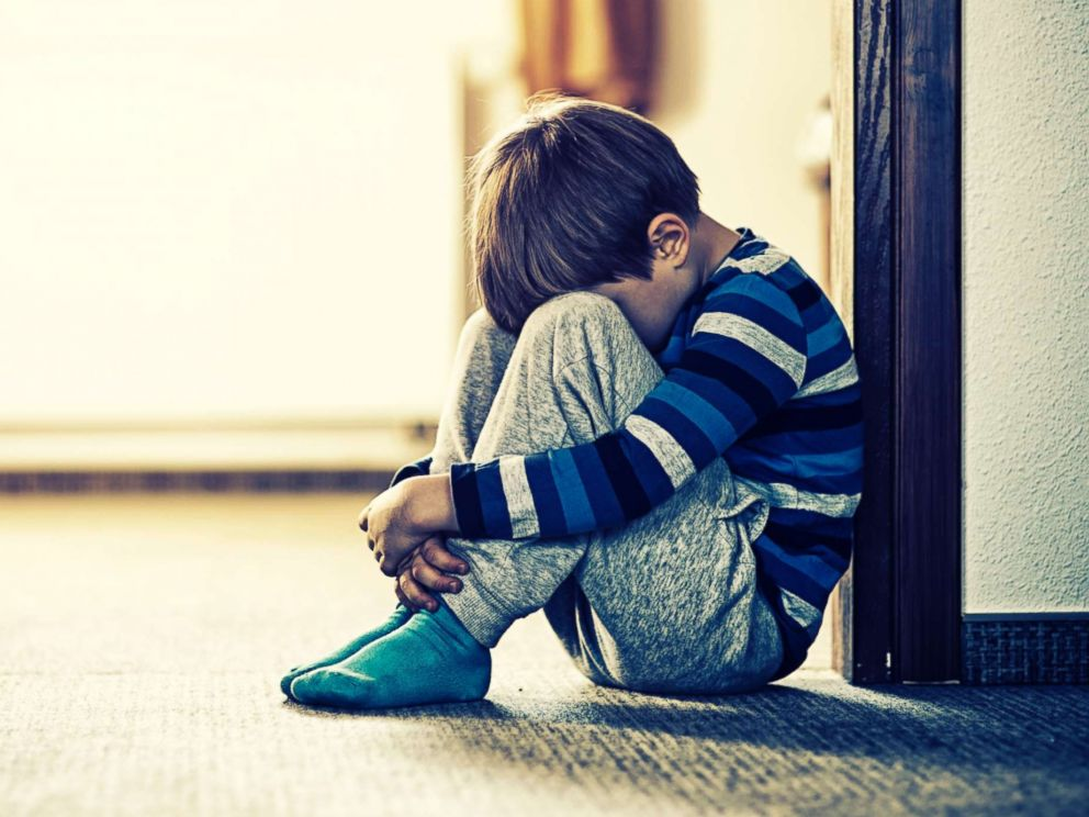 PHOTO: A child sits on the floor in an undated stock photo.