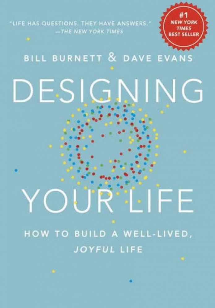 PHOTO: Designing Your Life by Bill Burnett & Dave Evans.