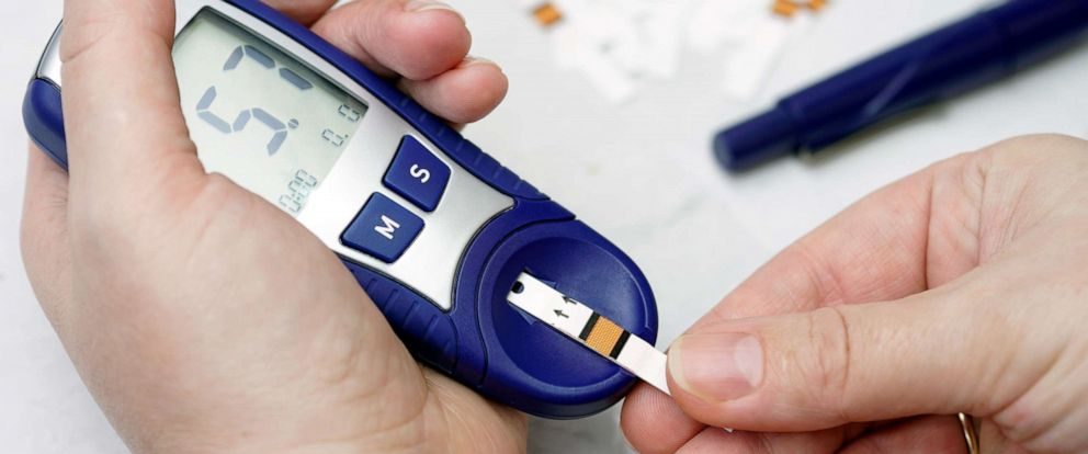 PHOTO: Image Of Person Checking Diabetes.
