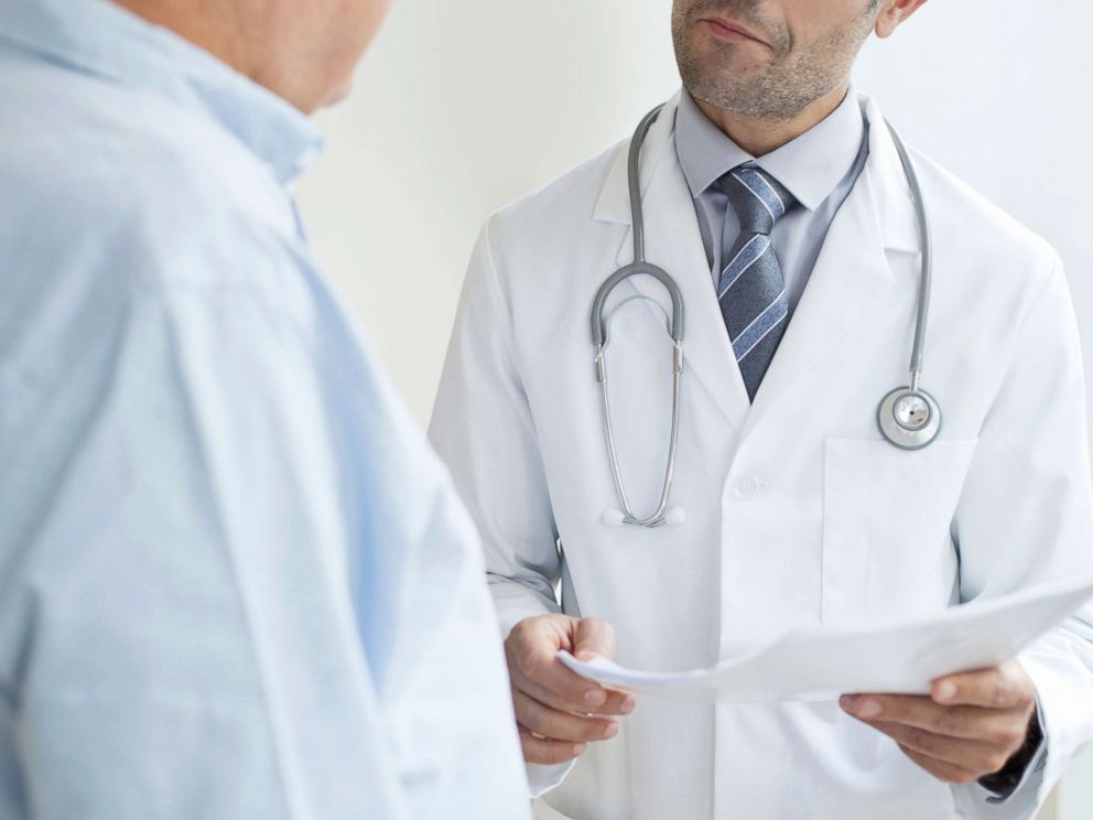 PHOTO: A doctor speaks to a patient in an undated stock photo.