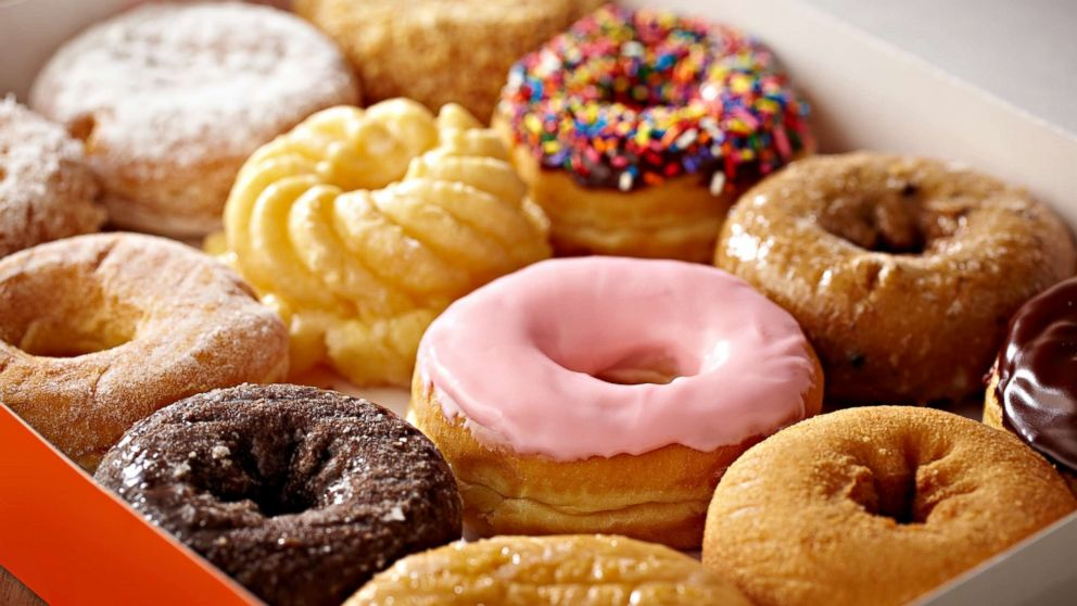 Box of donuts.