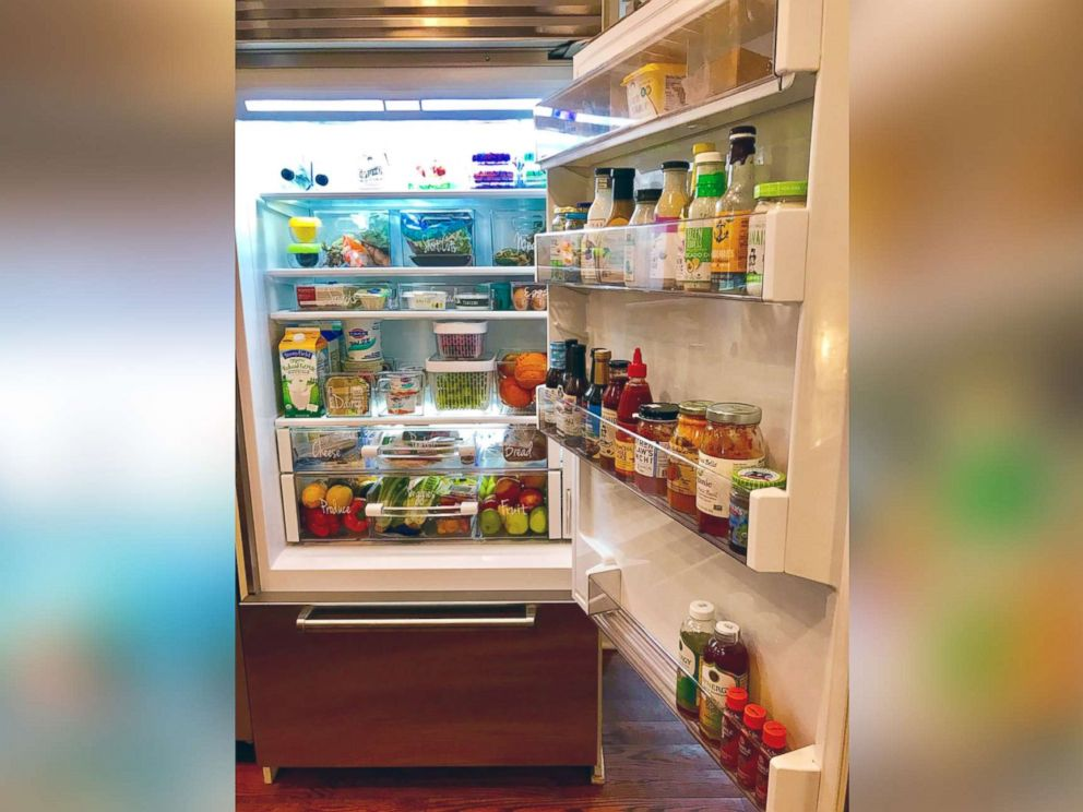 PHOTO: The Food Fix founder Heather Bauer shares her refrigerator organization tips.